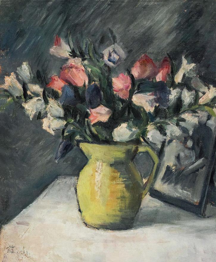 花卉与相框
