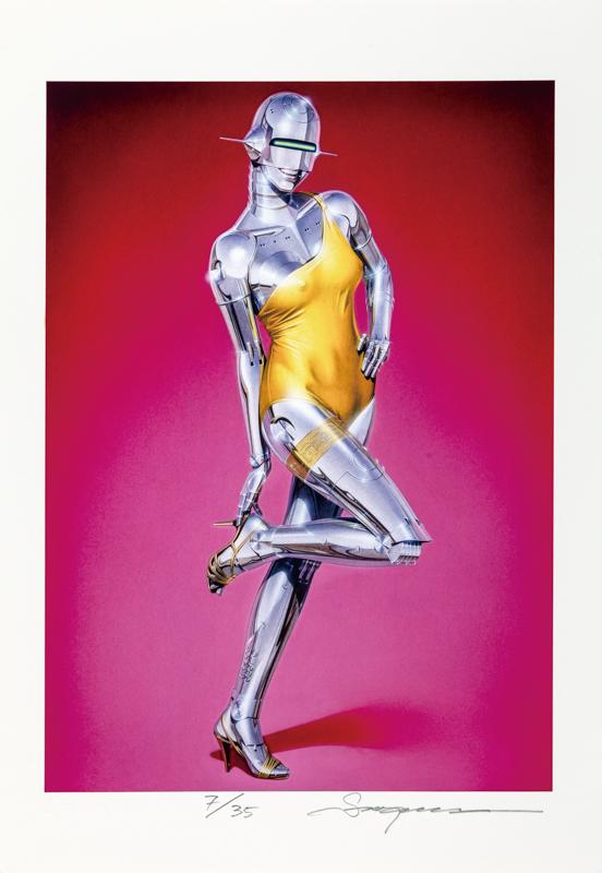 Sexy Robot Giclee#SC042