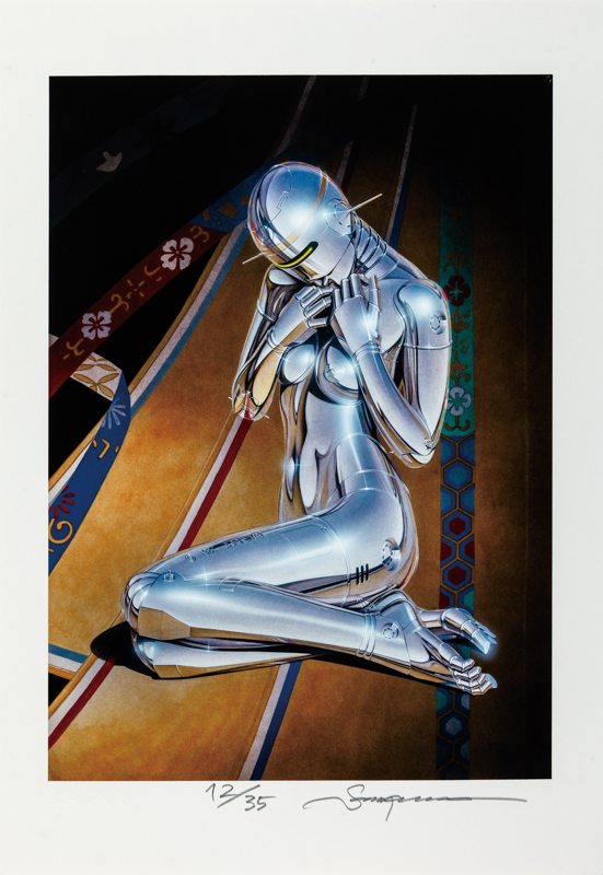 Sexy Robot Giclee#111811