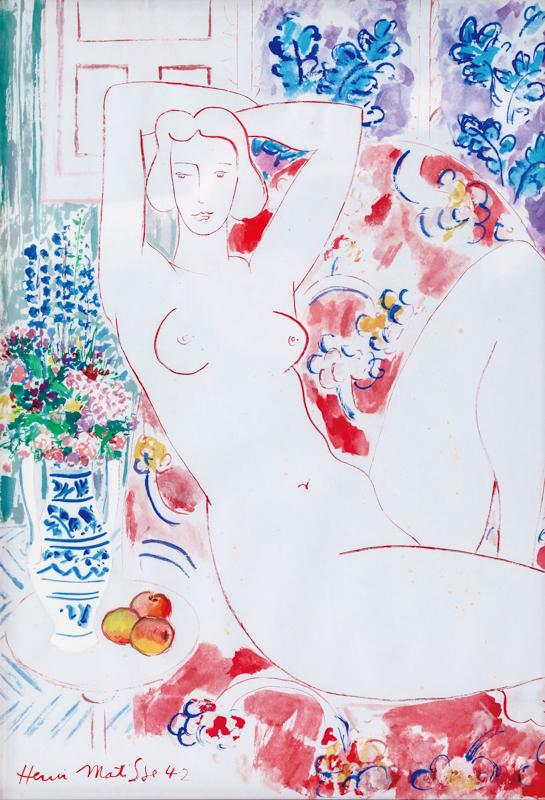 玫瑰与裸妇