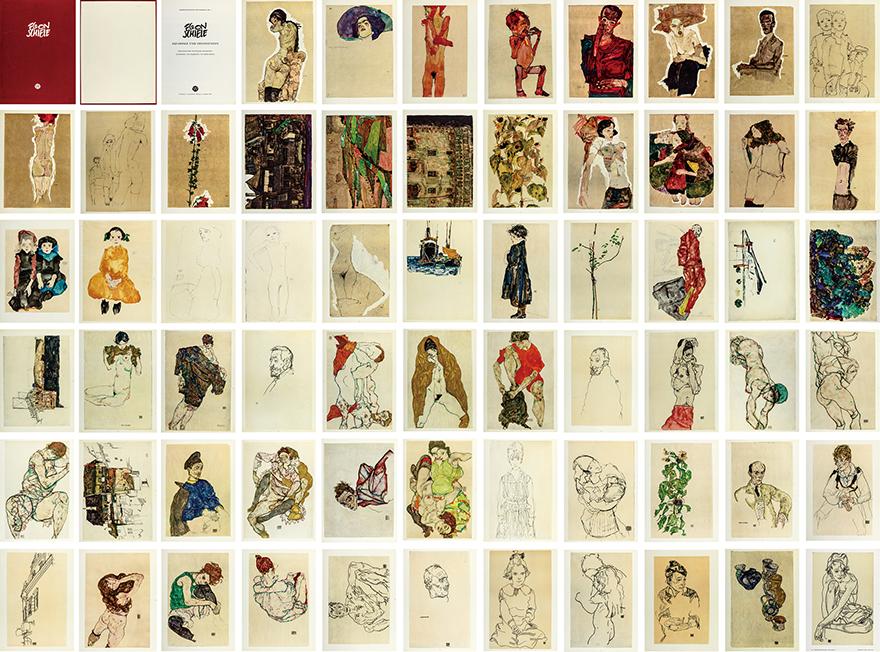 《水彩和素描》限量版画书