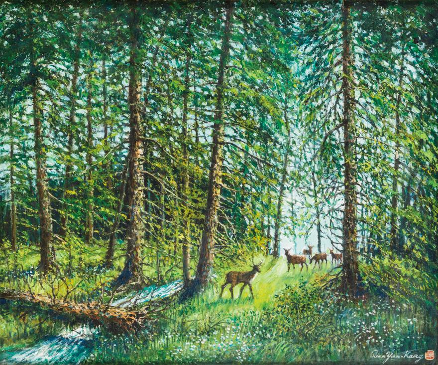 神农架原始森林