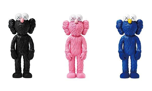 BFF(一组三件,粉色、蓝色、黑色)
