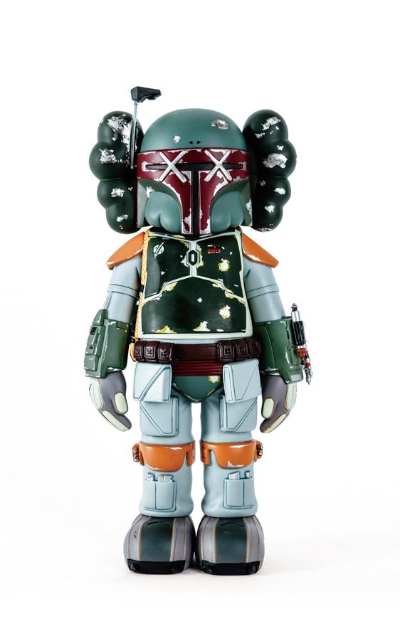 Star Wars Boba Fett(Kaws Version)