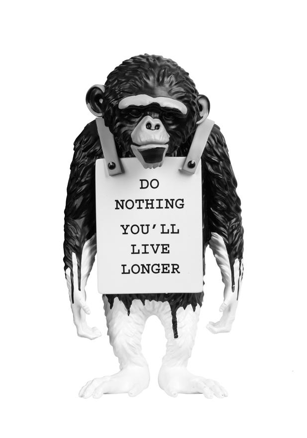 挂牌的猴子(水滴版)