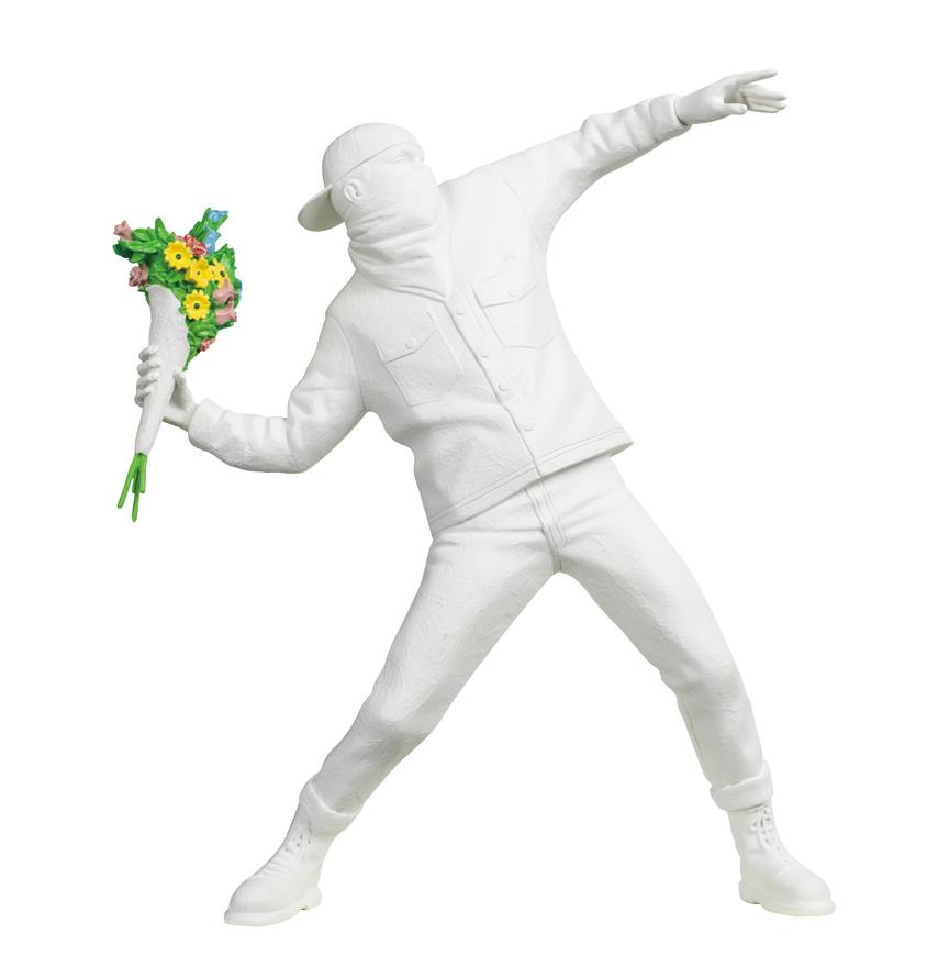 掷花手(白色)