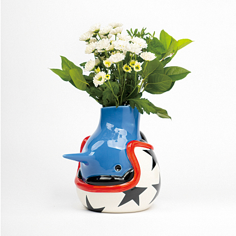 THE UPSIDE DOWN FACE VASE
