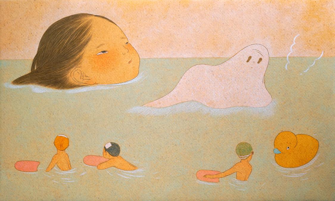 浴缸之梦(毛巾怪)