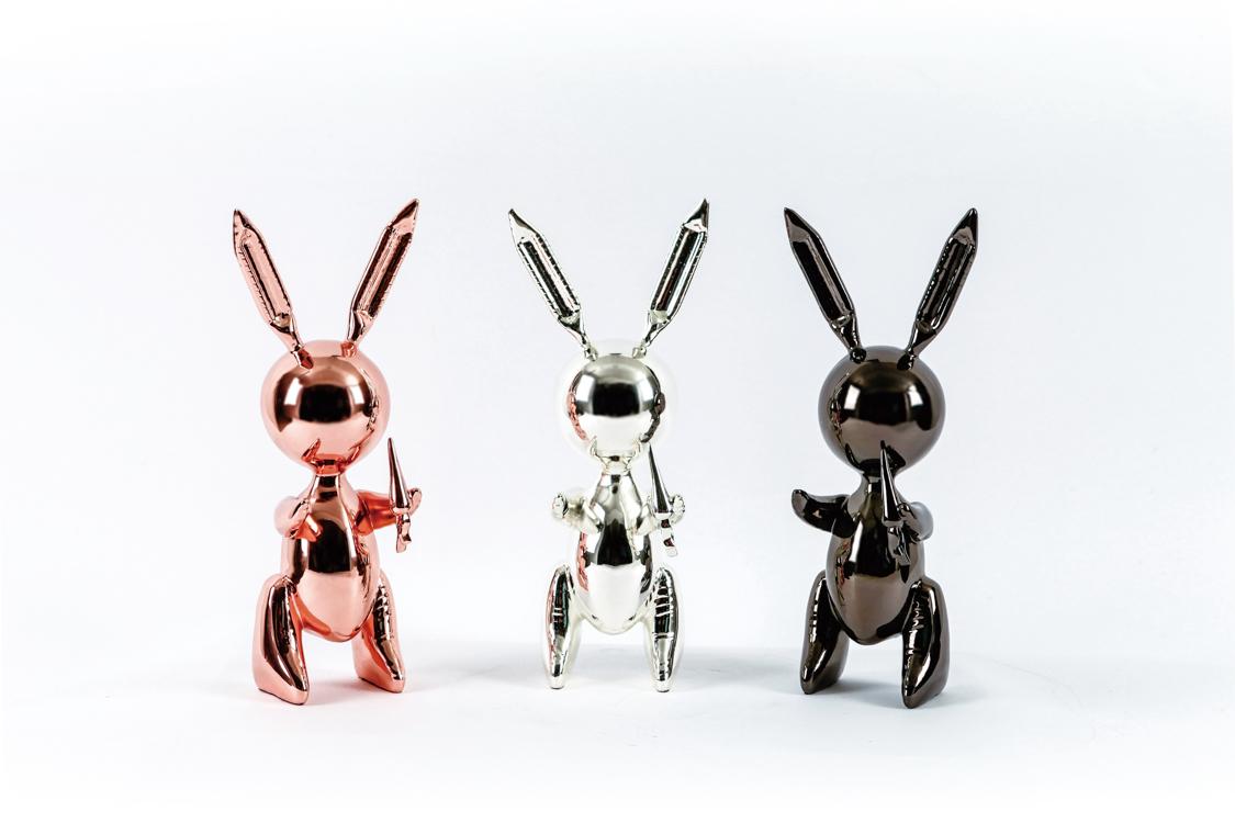 气球兔 Ballon Rabbit(一组三只)