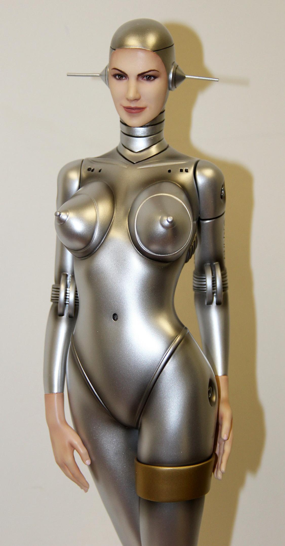 Sexy Robot #002(Human Face)