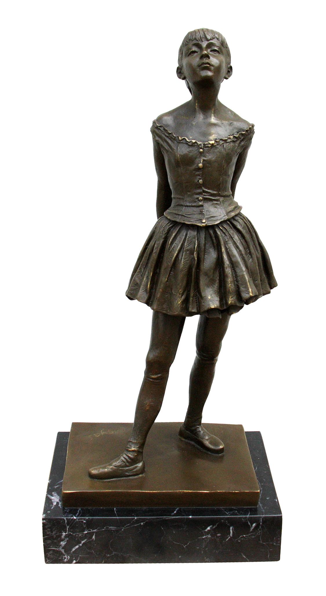 14 岁的小舞女 Little Dancer Aged Fourteen