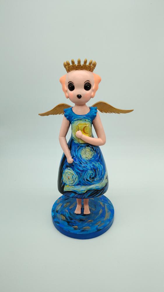 天使之翼 手绘独版(雕塑)