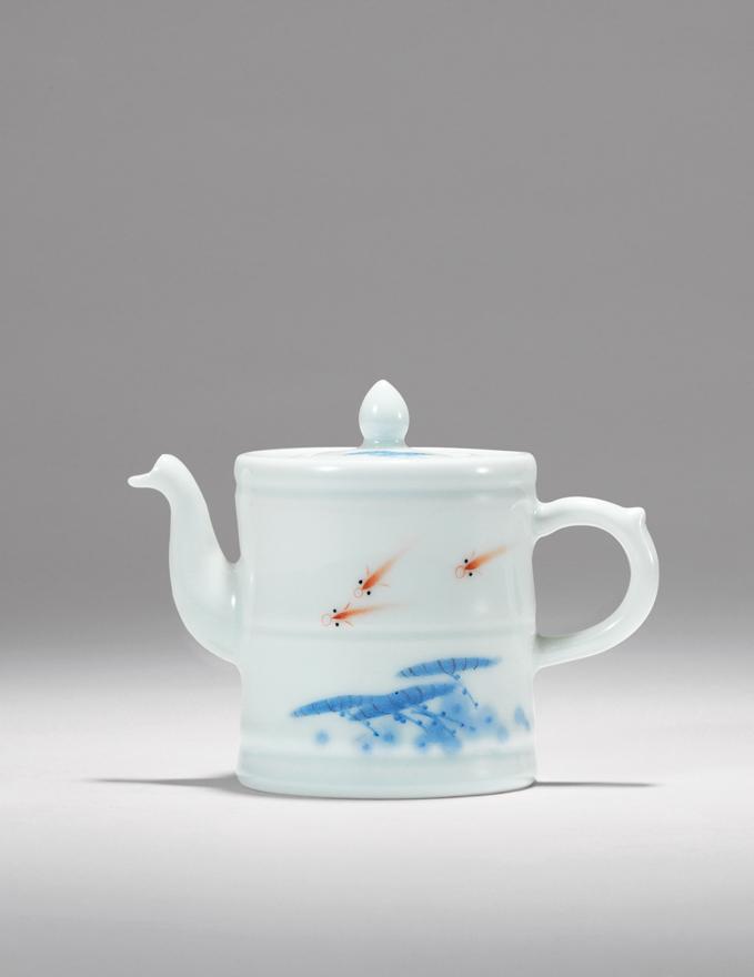 「戏水」壶