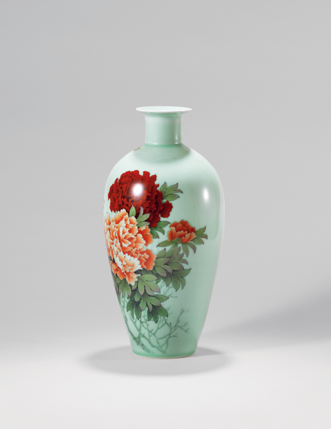「花开富贵」瓷瓶