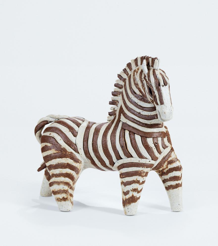 「斑马」雕塑