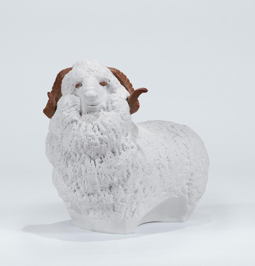 「老绵羊」雕塑