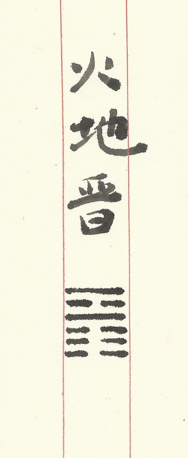 游丝-象(火地晋)